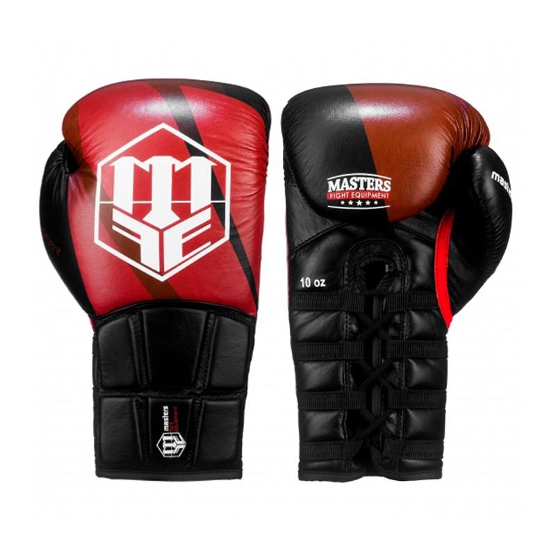Masters Rękawice do boksu sznurowane 10 oz Spartan