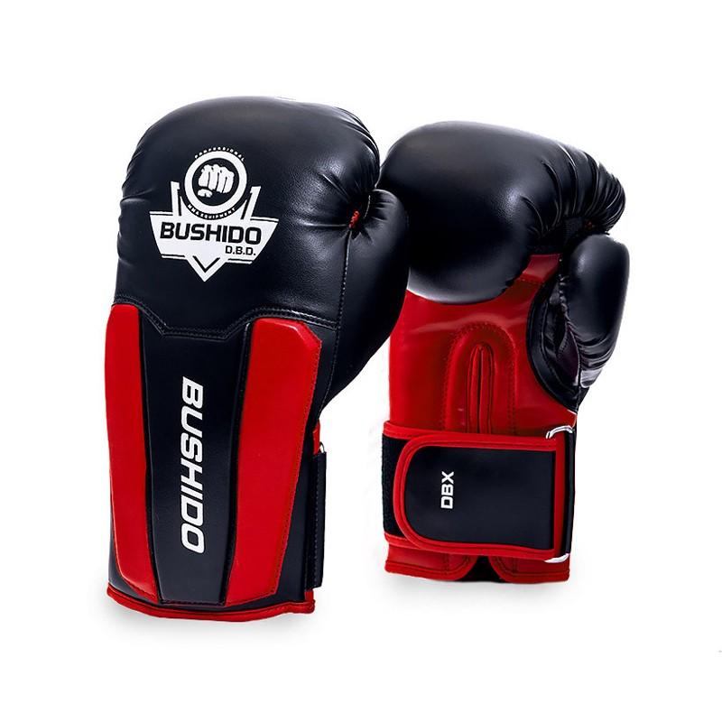 Rękawice bokserskie sparingowe  bushido