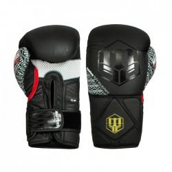Klasyczne bokserskie rękawice skórzane ze sztywnym nadgarstkiem marki Masters