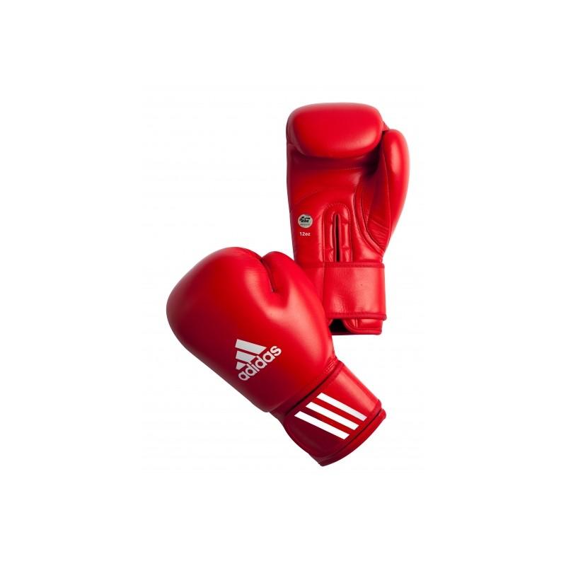 Bokserskie rękawice Adidas z atestem AIBA na zawody