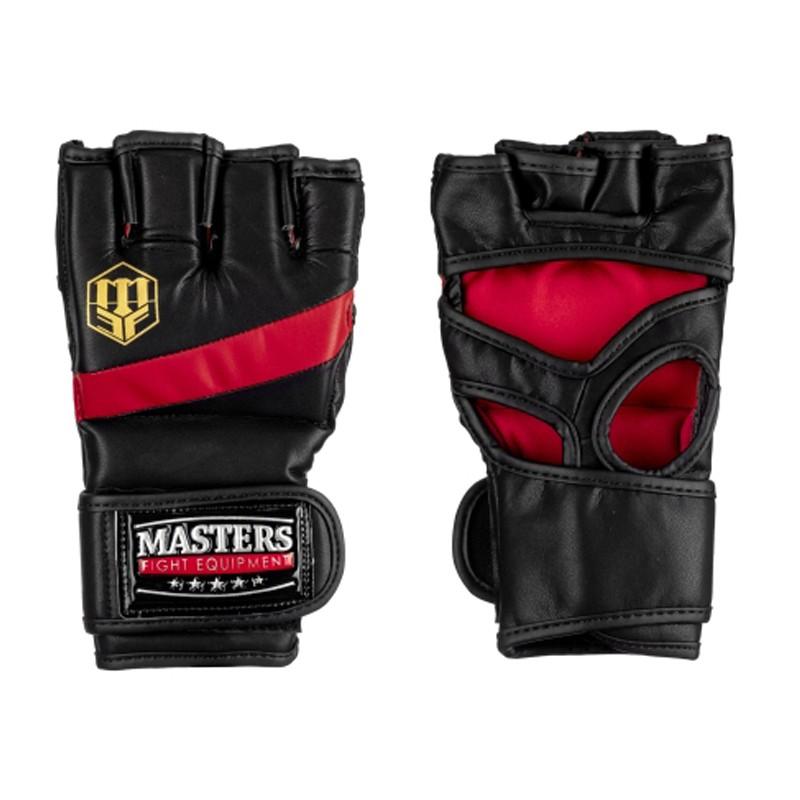 Rękawice MMA MASTERS z Otwartym Kciukiem
