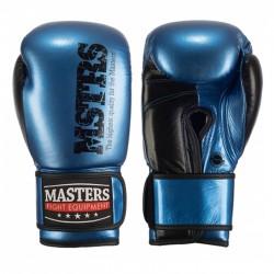 rękawice-bokserskie-masters-10oz-niebieskie