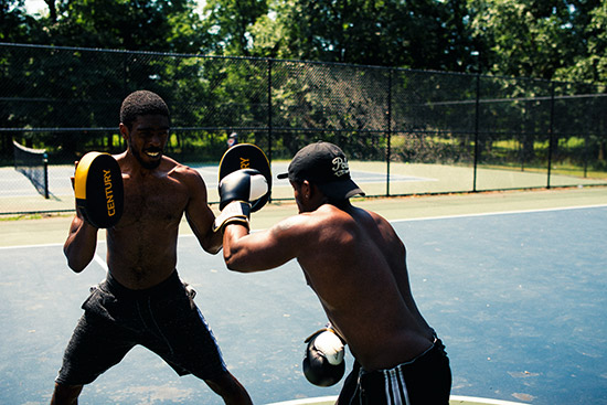 treningowe tarcze bokserskie